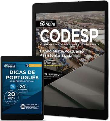 Download Apostila CODESP - SP Pdf – Especialista Portuário – Assistente Social
