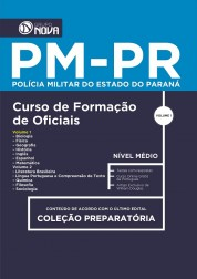 Apostila PM PR 2017 - Formação de Oficiais