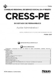 Download Apostila CRESS - PE Pdf - Auxiliar Administrativo I