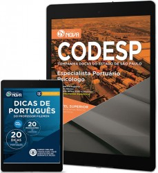 Download Apostila CODESP - SP Pdf - Especialista Portuário – Psicólogo