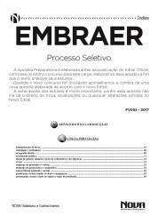 Download Apostila EMBRAER Pdf – Processo Seletivo
