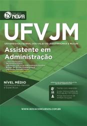 Combo UFVJM – Assistente em Administração + Curso Online