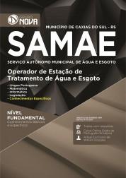 Apostila SAMAE - RS – Operador de Estação de Tratamento de Água e Esgoto