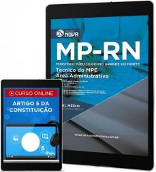Download Apostila MP - RN Pdf - Técnico Área Administrativa