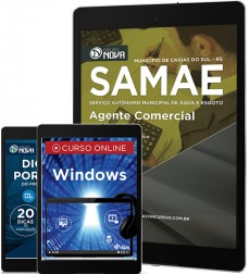Download Apostila SAMAE - RS Pdf – Agente Comercial