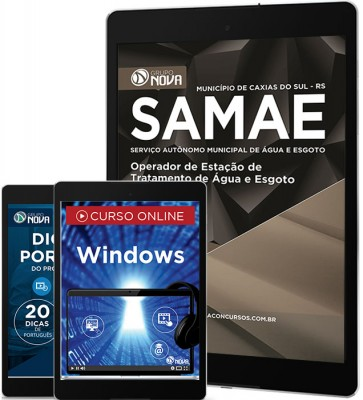 Download Apostila SAMAE - RS Pdf – Operador de Estação de Tratamento de Água e Esgoto