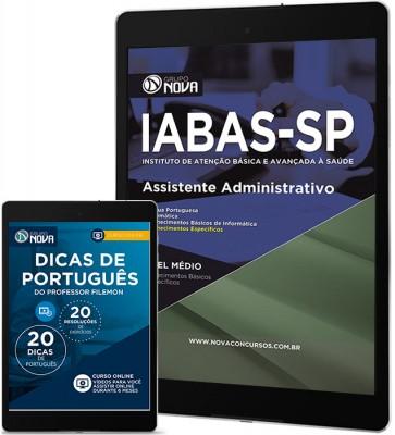 Download Apostila IABAS - SP Pdf – Assistente Administrativo