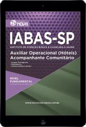 Download Apostila IABAS - SP Pdf – Auxiliar Operacional (hotéis) Acompanhante Comunitário