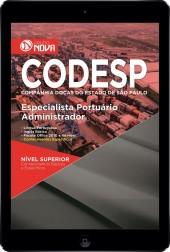 Download Apostila CODESP - SP Pdf - Especialista Portuário – Administrador