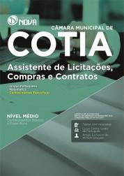 Apostila Câmara de Cotia - SP – Assistente de Licitações, Compras e Contratos