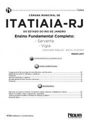 Apostila Câmara de Itatiaia - RJ – Servente e Vigia