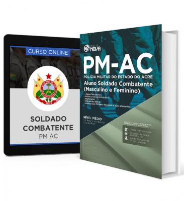 Combo PM-AC 2017 – Soldado Combatente + Curso Online