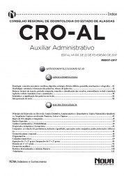 Apostila CRO - AL – Auxiliar administrativo