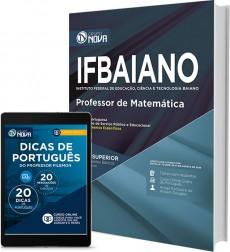 Apostila IFBAIANO - BA – Professor de Matemática