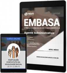 Download Apostila EMBASA - BA Pdf - Agente Administrativo