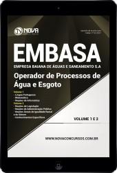 Download Apostila EMBASA - BA Pdf – Operador de Processos de Água e de Esgoto