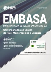 Apostila EMBASA - BA – Cargos de Nível Médio/Técnico e Superior