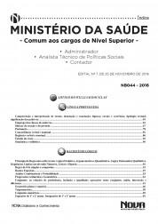 Apostila Ministério da Saúde - Cargos de Nível Superior