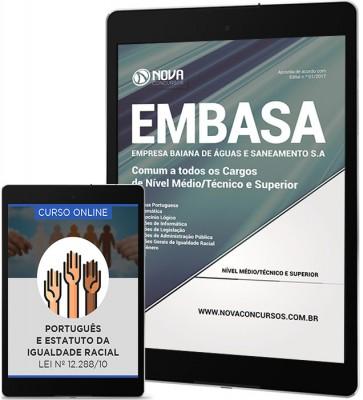 Download Apostila EMBASA - BA Pdf – Cargos de Nível Médio/Técnico e Superior