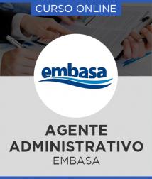 Combo EMBASA - BA 2017 - Agente Administrativo + Curso Online