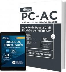 Apostila PC-AC - Agente e Escrivão de Polícia Civil