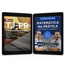 Combo TJ - PR Pdf - Técnico Judiciário + Curso Online Matemática na Prática