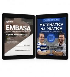 Combo EMBASA - BA Pdf - Agente Administrativo + Curso Online Matemática na Prática
