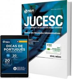 Apostila JUCESC - SC - Técnico em Atividades Administrativas