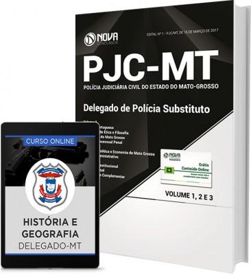Apostila PJC-MT - Delegado de Policia Substituto