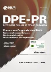 Apostila DPE-PR - Cargos de Nível Médio