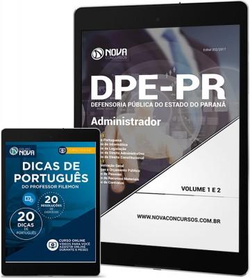 Download Apostila DPE-PR PDF - Administrador
