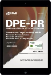 Download Apostila DPE-PR PDF - Cargos de Nível Médio