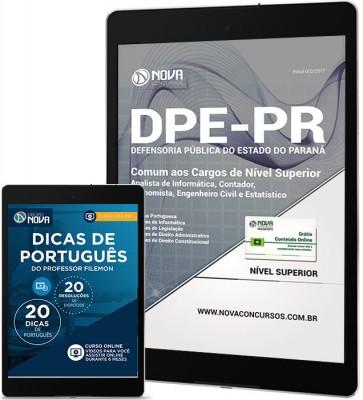 Download Apostila DPE-PR PDF - Cargos de Nível Superior