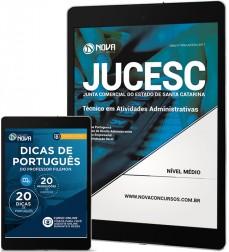 Download Apostila JUCESC - SC PDF - Técnico em Atividades Administrativas