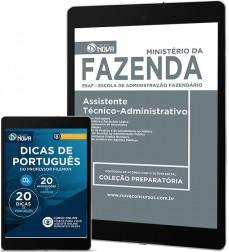Download Apostila Ministério da Fazenda Pdf – Assistente Técnico-Administrativo