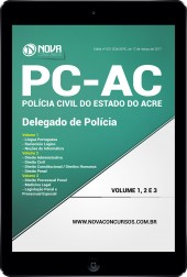 Download Apostila PC-AC - Delegado de Polícia