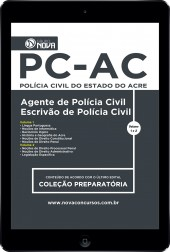 Download Apostila PC-AC PDF - Agente e Escrivão de Polícia Civil