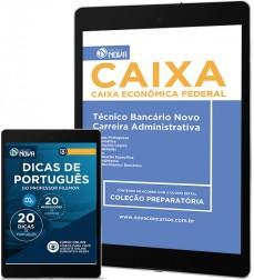 Download Apostila CAIXA PDF – Técnico Bancário Novo