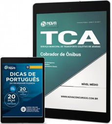 Download Apostila TCA - SP PDF - Cobrador de Ônibus