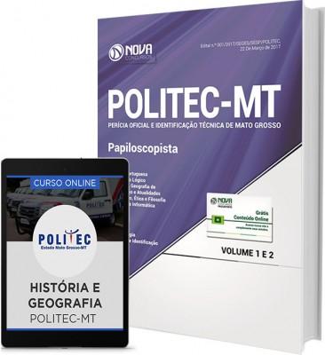 Apostila POLITEC-MT - Papiloscopista