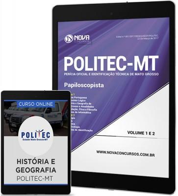 Download Apostila POLITEC-MT Pdf - Papiloscopista