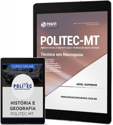 Download Apostila POLITEC-MT Pdf - Técnico em Necropsia