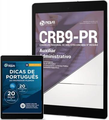 Download Apostila CRB9-PR Pdf - Auxiliar Administrativo