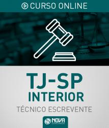 Curso Online Completo + Reta Final TJ-SP Interior - Escrevente