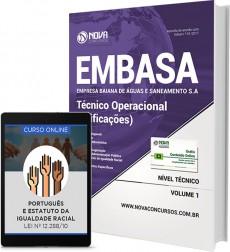 Apostila EMBASA-BA - Técnico Operacional (Edificações)