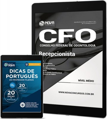 Download Apostila CFO-DF Pdf - Recepcionista
