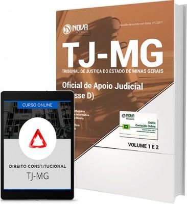 Apostila TJ-MG - Oficial de Apoio Judicial (Classe D)