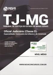 Apostila TJ-MG - Oficial Judiciário (Classe D) Comissário da Infância e Juventude