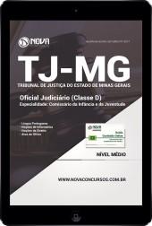 Download Apostila TJ-MG 2017 Pdf - Oficial Judiciário (Classe D) Comissário da Infância e da Juventude