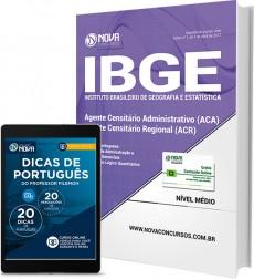 Apostila IBGE - Agente Censitário Administrativo (ACA) e Regional (ACR)
